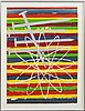 James rosenquist, lithograph in colors signed dated and numbered 1975 84/100.