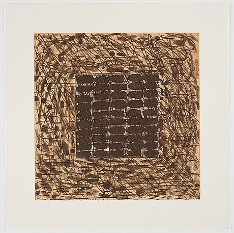 "Pat steir, portfolio ""drawing lesson part i - line""."
