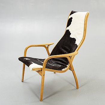 "Yngve Ekström, armchair ""Lamino"" Swedese later part of the 20th century."