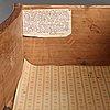 Byrå, 1700-talets mitt, rokoko.