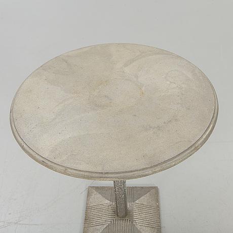 "Table, byarums bruk, ""lund"", sand-cast aluminum."