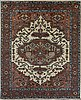 A carpet, heriz design, ca 300 x 245 cm.
