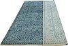 A carpet, bamboo silk, ca 306 x 243 cm.