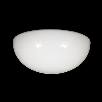 Paavo Tynell, A mid-20th century ceiling lamp, cover plate model 80112 / shade model 80113, Idman, Finland.