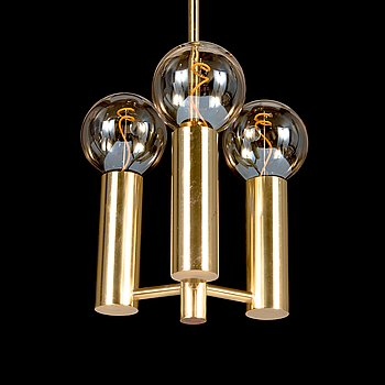 Hans-Agne Jakobsson, A brass ceiling light, Markaryd, Sweden.