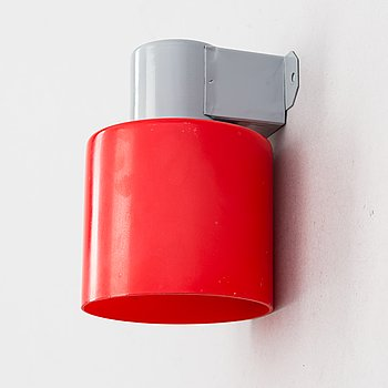 Paavo Tynell, a mid-20th century '7236' wall light /exit light for Idman.