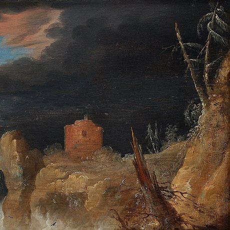 Bonaventura peeters attributed to, shipwreck.