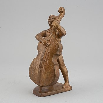 David Wretling, a patinated  bronze sculpture, signed and dated 61. Numbered 3-10.