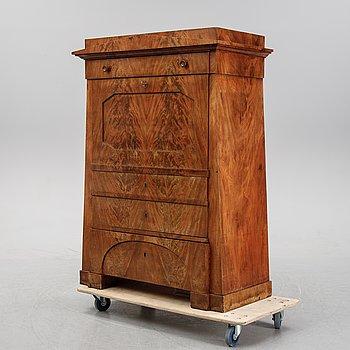 A mahogany secretaire, 1820/30's.
