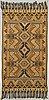 A semiantik kilim ca 283 ca 140 cm not including fringes.