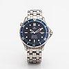Omega, seamaster, 300m, wristwatch, 41 mm.