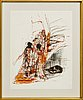 Staffan hallström, litograph, signed and numbered 14/60.