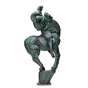 "700. Carl Milles, ""Paulus bländas"" (St. Paul on the road to Damascus)."