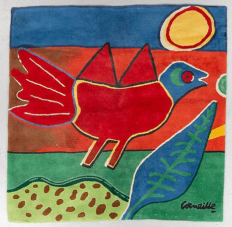 Beverloo corneille, a carpet, hand tufted, ca 158-160 x 159,5-161 cm.