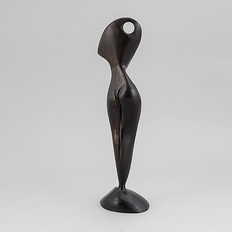 Stan wys, sculpture, patinated and polished broze, signed and numbered ii/vii, dated 2007.