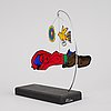 Beverloo corneille, mobile/sculpture, signed and dated 2004, numbered 83/600.