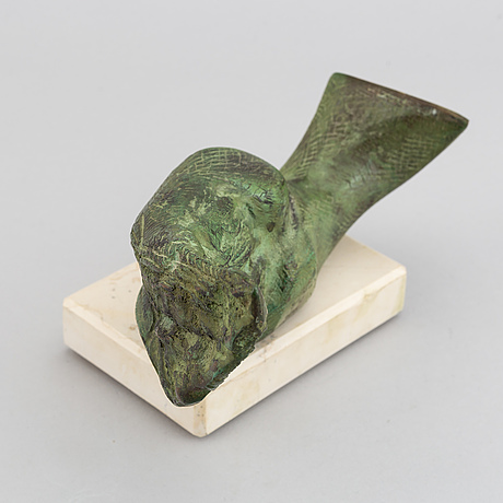Stan wys, a patinated bronze sculpture, signed, numberes 9/12 and dated 1996.
