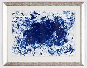 Yves Klein, efter, färglitografi, numrerad 18/200 a tergo.