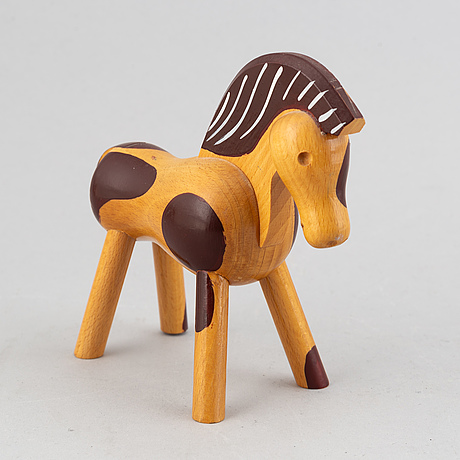Kay boyesen, figur, häst, 1900-talets första hälft.