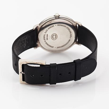 Georg jensen/thorup & bonderup, 2737, wristwatch, 35 mm.