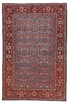 302. Matto, semi-antique Kashan, ca 197,5 x 132 cm.