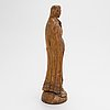 Okänd konstnär, skulptur, trä, 1800-tal, sydamerika.