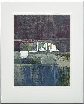 Anders Österlin, colour serigraphy, signed 131/150.