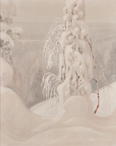Paavo kaikkonen, oil on canvas, signed.