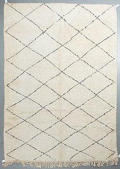 A carpet, Morocco, ca 355 x 248 cm.