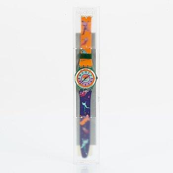Swatch, Curling, wristwatch, 34 mm.