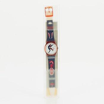 Swatch, Tedophorus, wristwatch, 34 mm.