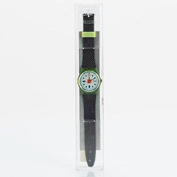 Swatch, Hopscotch, wristwatch, 34 mm.
