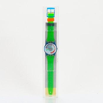 Swatch, Schnell, wristwatch, 34 mm.