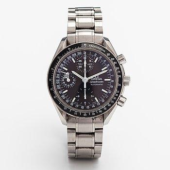 Omega, Speedmaster, day-date, wristwatch, 39 mm.