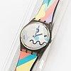 Swatch, cosmesis, wristwatch, 34 mm.