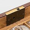 A mid-19th-century medicine box.