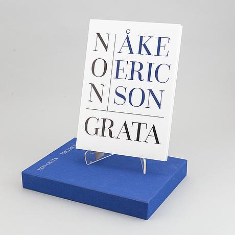 Åke ericson, limiterad utgåva fotobok samt gelatinsilverfotografi, signerad och numrerad 11/12.