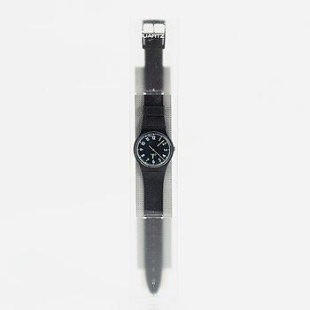 Swatch, Knight of the Night, wristwatch, 34 mm.