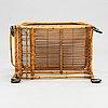 A mid-20th century tea trolley.