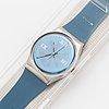 Swatch, plaza, wristwatch, 34 mm.