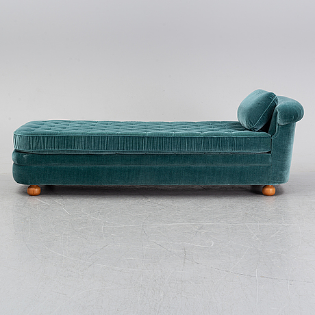 A couch model 775 by josef frank for firma svenskt tenn, 2015. wrongly marked by the manufacturer.