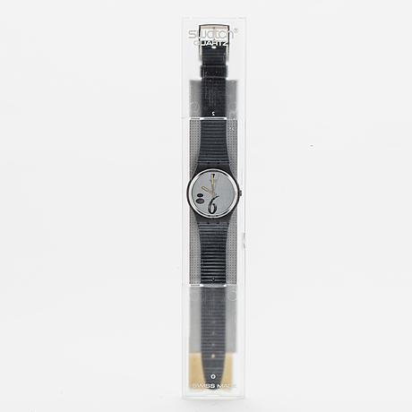 Swatch, high beam, wristwatch, 34 mm.