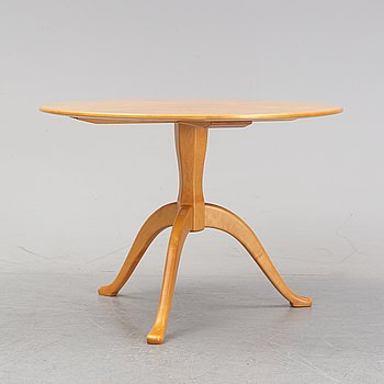 A 'Berga' birch coffee table, by Carl Malmsten, second half of the 20th Century.
