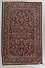 Matto, semi-antique/old kashan, ca 203 x 130,5 cm.