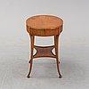 Bord, sengustavianskt av johan christian linning d.y. (mästare i stockholm 1779-1801).