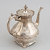 A mexican silver coffee service, mid 20th century.