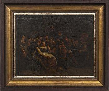 Unknown artist, 17th century, oil on canvas.