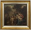 Unknown artist, italian school, 17th / 18th-century, oil on canvas.