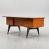 A teak desk by hadar schmidt 1950/60's.