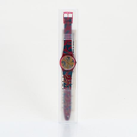 Swatch, louis louis, wristwatch, 34 mm.